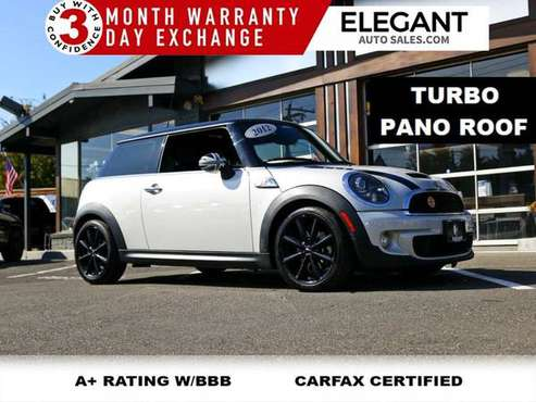 2012 MINI Cooper Hardtop S John Cooper Works PANO ROOF NAVI HTD SEATS for sale in Beaverton, OR