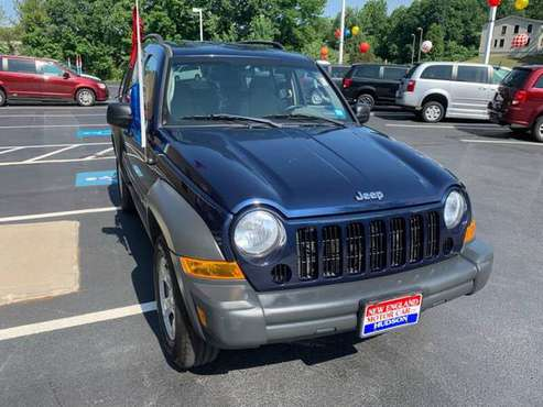 👉 2006 JEEP LIBERTY SPORT| FRESH TRADE ! 4X4 | ICED COLD A/C - cars... for sale in Hudson, NH