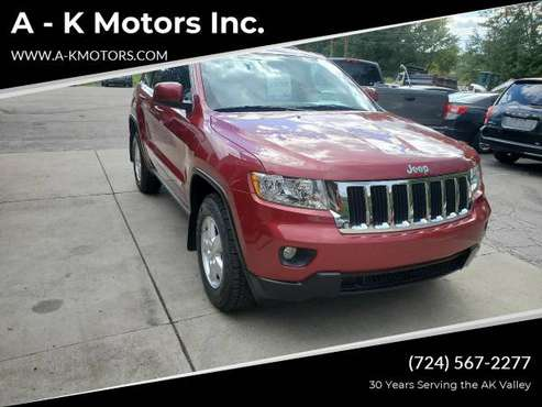 2012 Jeep Grand Cherokee Laredo 4x4 4dr SUV EVERYONE IS APPROVED! -... for sale in Vandergrift, PA