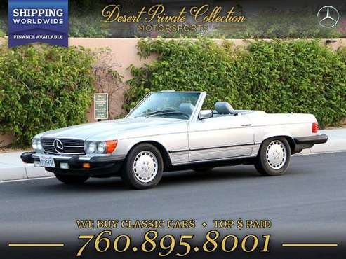1983 Mercedes-Benz 380SL Low Miles for sale by Desert Private... for sale in Palm Desert, TX