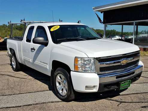 2009 Chevy Silverado 1500 LT Ext Cab 4WD, 162K, 5.3L V8, Tow, AC, CD for sale in Belmont, VT