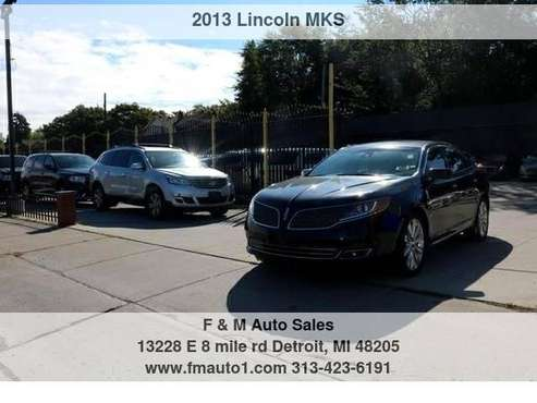 2013 Lincoln MKS 4dr Sdn 3.5L AWD EcoBoost F&M Auto Sales - cars &... for sale in Detroit, MI