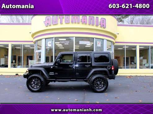 2015 Jeep Wrangler UNLIMITED SPORT WITH HARD AND SOFT 35 TIRES ON F... for sale in Hooksett, VT