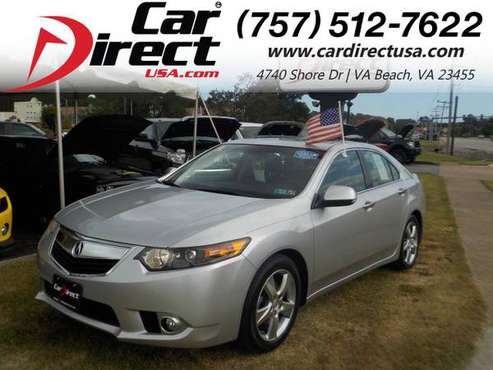 2012 Acura TSX WARRANTY, LEATHER SEATS, SUNROOF, KEYLESS ENTRY, H for sale in Virginia Beach, VA
