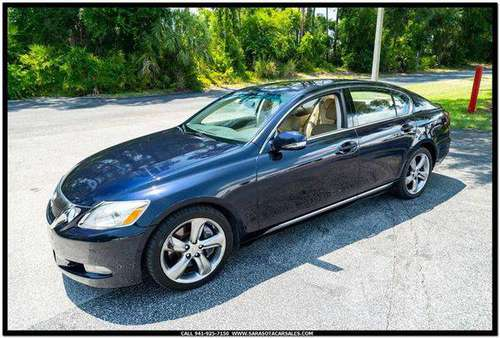 2008 Lexus GS 350 Base 4dr Sedan - CALL or TEXT TODAY!!! for sale in Sarasota, FL