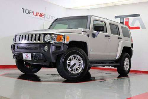 2006 Hummer H3 4dr 4WD SUV FINANCING OPTIONS! LUXURY CARS! CALL US! for sale in Dallas, TX