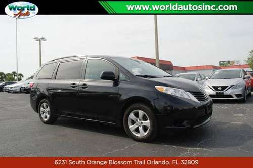 2015 Toyota Sienna LE FWD 8-Passenger V6 $729 DOWN $65/WEEKLY for sale in Orlando, FL