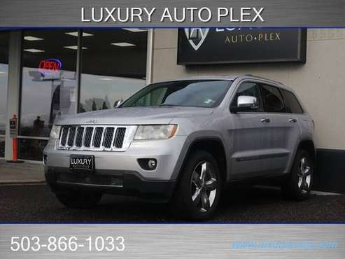 2013 Jeep Grand Cherokee 4x4 4WD Overland SUV - cars & trucks - by... for sale in Portland, OR