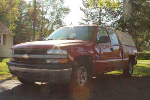 1999 Chevy Silverado 1500 ext. Cab - 3 door - 6ft truck bed used for c for sale in Howard City, MI