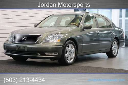 2004 LEXUS LS 430 1-OWNER NEW TIMING BELT CLEAN 2005 2006 2003 LS430 for sale in Portland, OR