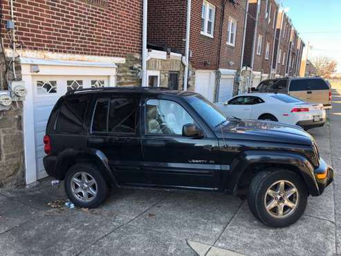 2003 Jeep Liberity For Sale - cars & trucks - by owner - vehicle... for sale in Philadelphia, PA