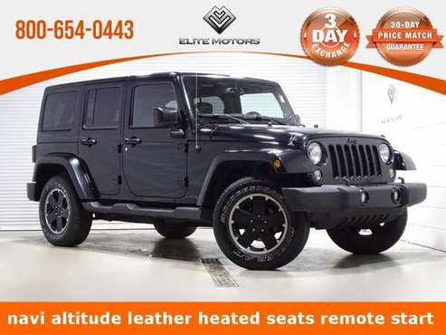 2014 Jeep Wrangler Unlimited Sahara !!Bad Credit, No Credit? NO... for sale in WAUKEGAN, WI