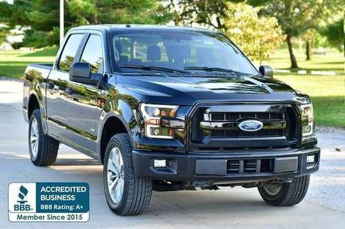 2017 Ford F-150 XL 4x4 4dr SuperCrew 5.5 ft. SB 48,477 Miles for sale in Omaha, NE