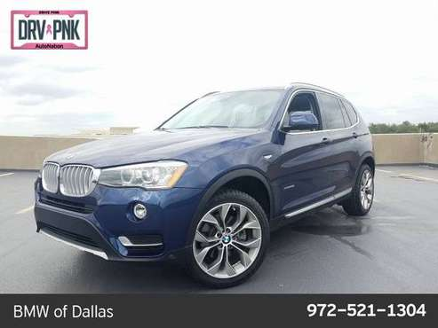 2017 BMW X3 xDrive28i AWD All Wheel Drive SKU:H0T03538 for sale in Dallas, TX