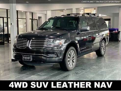 2015 Lincoln Navigator L 4WD SUV 3RD ROW SEAT NAV MOON ROOF LINCOLN... for sale in Gladstone, OR