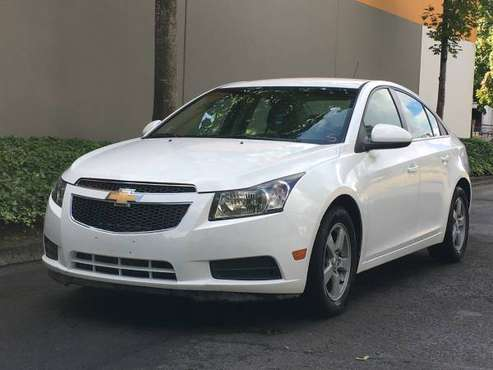 2012 CHEVY CRUZE LT SEDAN FWD LOW 61K MILES JUST SERVICED !!!! for sale in 97217, OR