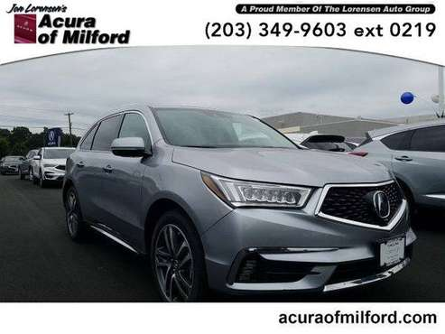 2017 Acura MDX SUV SH-AWD w/Advance/Entertainment Pkg (Lunar Silver... for sale in Milford, CT