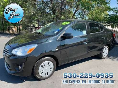 2017 Mitsubishi Mirage G4 ES Sedan MPG 35 City/ 42 Hwy...CERTIFIED PRE for sale in Redding, CA