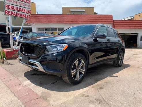 2019 Mercedes GLC300 Repairable,repairables,rebuildable,rebuildables for sale in Denver, MN