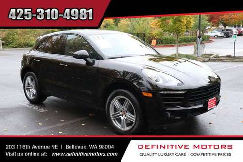 2017 Porsche Macan Base * AVAILABLE IN STOCK! * SALE! * for sale in Bellevue, WA