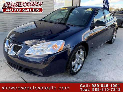 2008 Pontiac G6 4dr Sdn - cars & trucks - by dealer - vehicle... for sale in Chesaning, MI