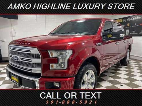 2015 Ford F-150 F150 F 150 Platinum 4x4 Platinum 4dr SuperCrew 5.5... for sale in Waldorf, District Of Columbia