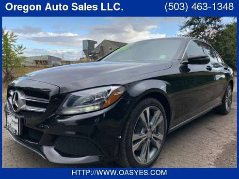 2016 Mercedes-Benz C300 FINANCIAMOS CON NUMERO DE ITIN for sale in Salem, OR