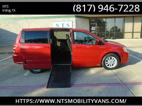 14 DODGE GRAND CARAVAN POWER RAMP MOBILITY HANDICAPPED WHEELCHAIR VAN for sale in Irving, AR