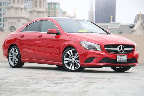 2016 Mercedes-Benz CLA Red For Sale *GREAT PRICE!* for sale in San Francisco, CA