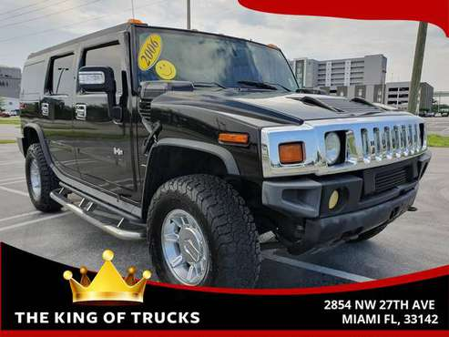 2006 HUMMER H2 SUV Sport Utility 4D SUV for sale in Miami, FL