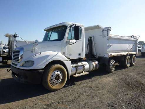 2008 Freightliner Columbia T/A 16' Dump Truck for sale in Coalinga, CA