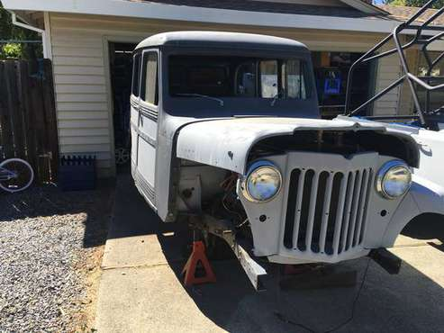 55 Willys Wagon Project for sale in Auburn , CA