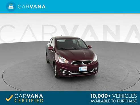 2018 Mitsubishi Mirage SE Hatchback 4D hatchback MAROON - FINANCE for sale in Arlington, District Of Columbia