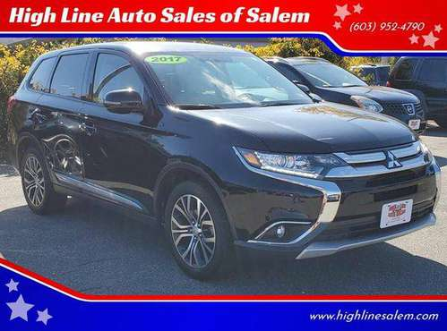 2017 Mitsubishi Outlander SE AWD 4dr SUV EVERYONE IS APPROVED! for sale in Salem, MA