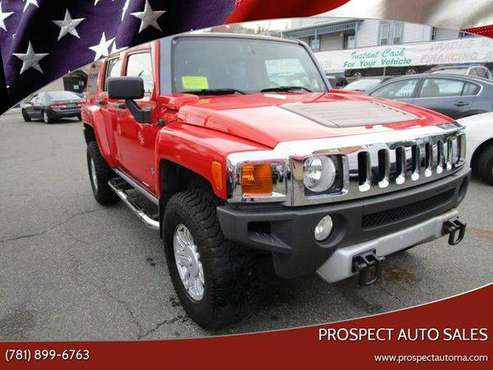 2008 HUMMER H3 Base 4x4 4dr SUV - EASY FINANCING! for sale in Waltham, MA