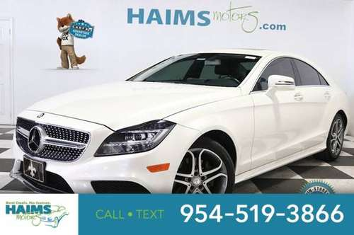 2015 Mercedes-Benz CLS 400 4dr Sedan 4MATIC for sale in Lauderdale Lakes, FL