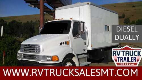 DIESEL DUALLY BOX TRUCK onan generator for sale in Missoula, MT