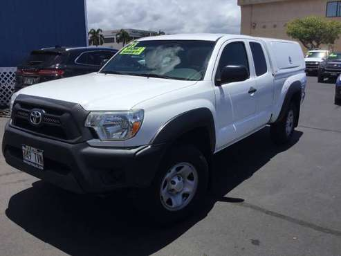 *PERFECT LIL' WORK TRUCK* 2015 Toyota Tacoma PreRunner Access Cab for sale in Kihei, HI