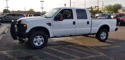2009 Ford F350 Crew Shorty 4x4 Diesel 23k - cars & trucks - by... for sale in Mesa, AZ