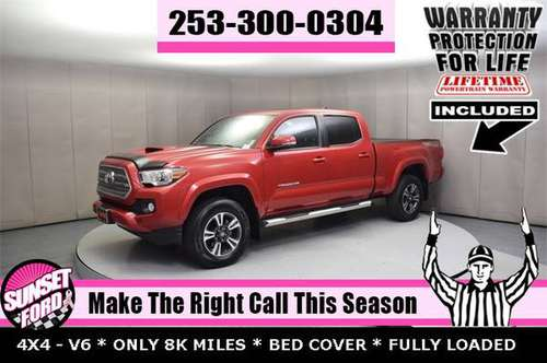 2017 Toyota Tacoma TRD Sport 3.5L V6 4WD Double Cab 4X4 PICKUP TRUCK for sale in Sumner, WA
