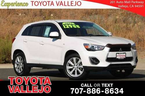 2015 Mitsubishi Outlander Sport ES 4D Sport Utility for sale in Vallejo, CA