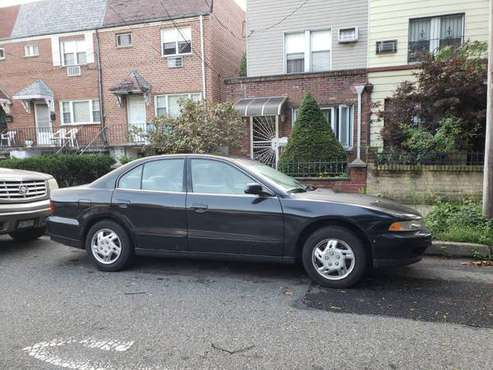 Black 2000 Mitsubishi Galant (4dr) for Sale for sale in Woodside, NY