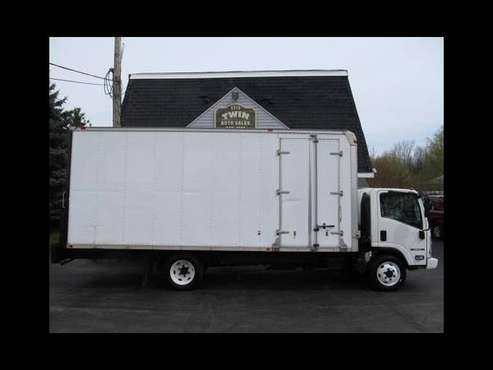 2012 Isuzu NPR 20 Box Pull-out Ramp Curbside Door for sale in Spencerport, NY