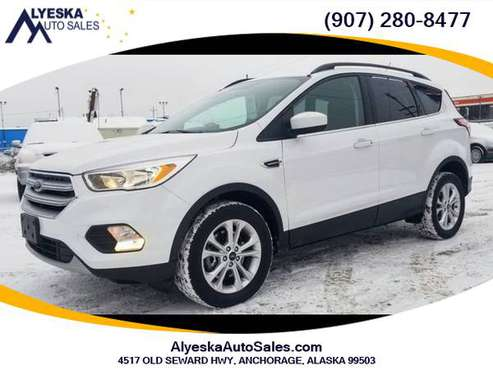 2018 Ford Escape - CERTIFIED PRE-OWNED VEHICLE! - cars & trucks - by... for sale in Anchorage, AK