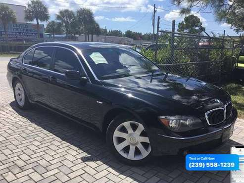 2006 BMW 7-Series 750li - Lowest Miles / Cleanest Cars In FL for sale in Fort Myers, FL