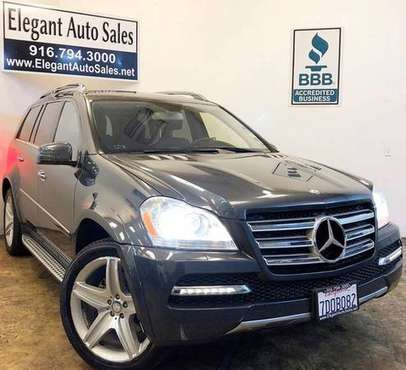 2011 Mercedes-Benz GL-Class 4MATIC 4dr GL 550 for sale in Rancho Cordova, CA