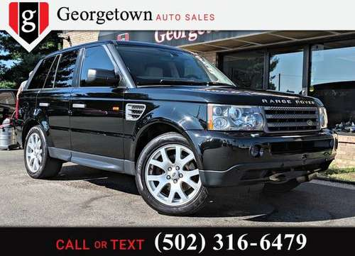 2008 Land Rover Range Rover Sport HSE for sale in Georgetown, KY