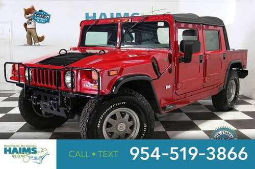 2002 Hummer H1 4-Passenger Open Top Hard Doors for sale in Lauderdale Lakes, FL
