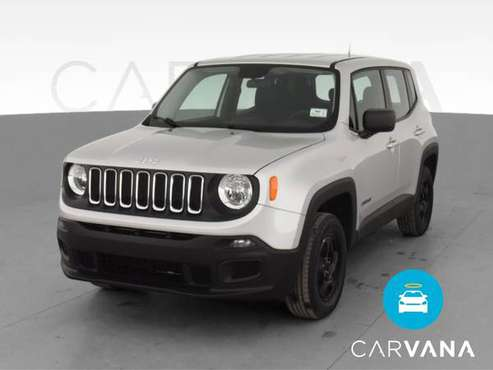 2016 Jeep Renegade Sport SUV 4D suv Silver - FINANCE ONLINE - cars &... for sale in Atlanta, CA