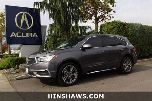 2017 Acura MDX AWD All Wheel Drive SUV w/Technology Pkg for sale in Fife, WA